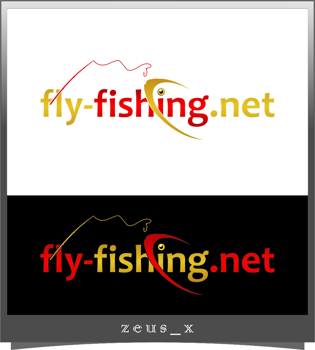 Logo Design by Ngepet_art - Entry No. 138 in the Logo Design Contest Artistic Logo Design for fly-fishing.net.