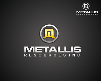 Logo Design by Ochim Cakep - Entry No. 106 in the Logo Design Contest Metallis Resources Inc Logo Design.