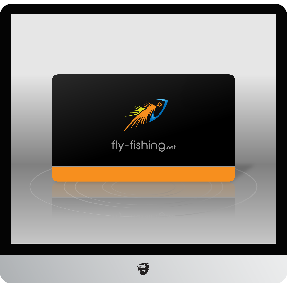 Logo Design by zesthar - Entry No. 142 in the Logo Design Contest Artistic Logo Design for fly-fishing.net.