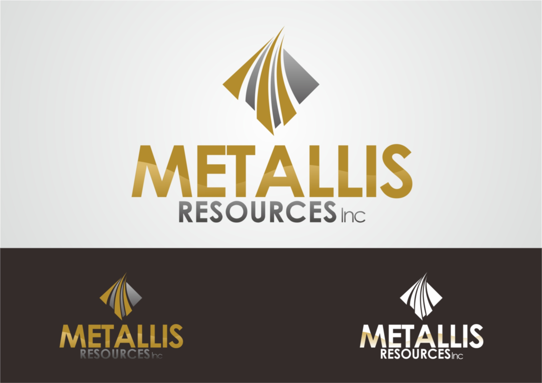 Logo Design by Private User - Entry No. 107 in the Logo Design Contest Metallis Resources Inc Logo Design.