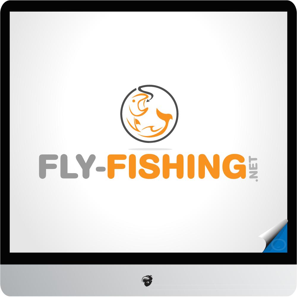 Logo Design by zesthar - Entry No. 144 in the Logo Design Contest Artistic Logo Design for fly-fishing.net.