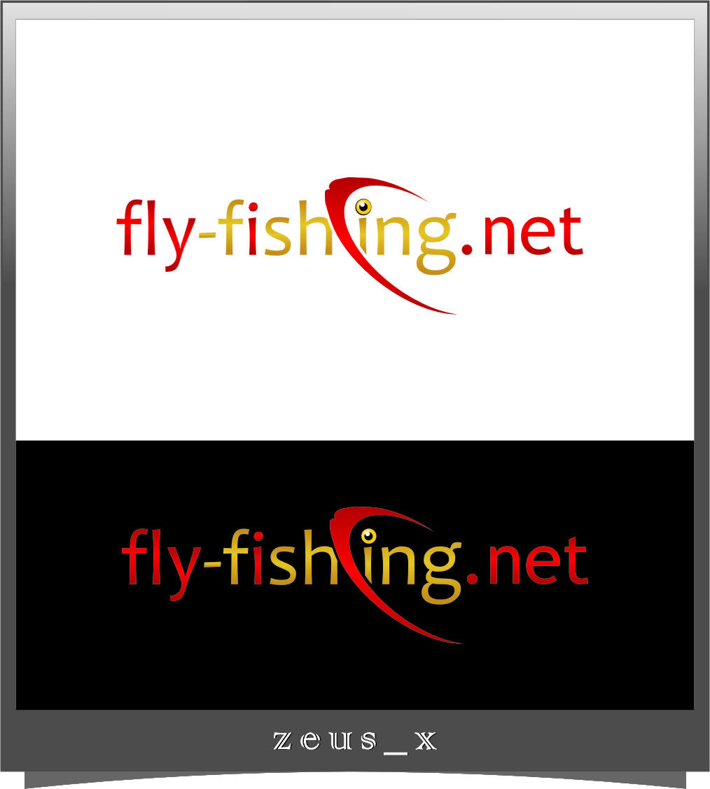 Logo Design by Ngepet_art - Entry No. 151 in the Logo Design Contest Artistic Logo Design for fly-fishing.net.