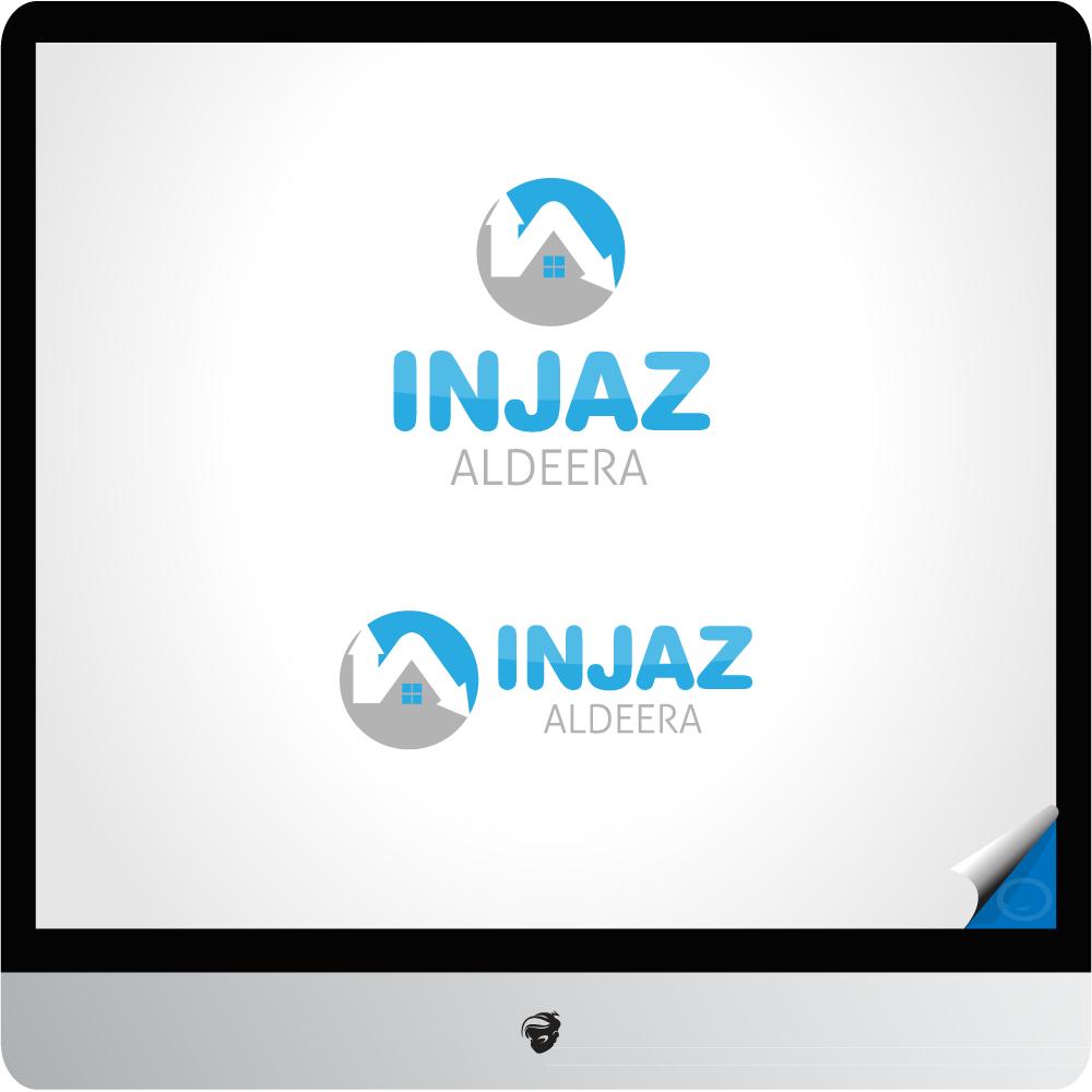 Logo Design by zesthar - Entry No. 3 in the Logo Design Contest Fun Logo Design for Injaz aldeera.