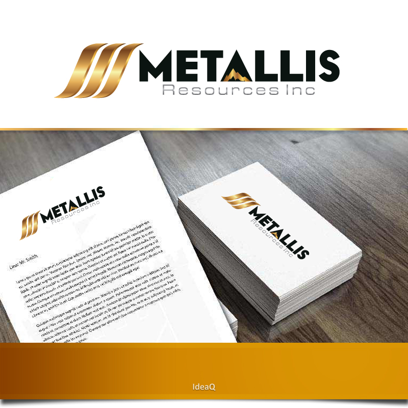 Logo Design by Private User - Entry No. 108 in the Logo Design Contest Metallis Resources Inc Logo Design.