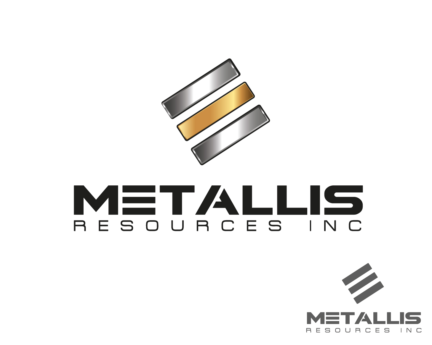 Logo Design by VENTSISLAV KOVACHEV - Entry No. 113 in the Logo Design Contest Metallis Resources Inc Logo Design.