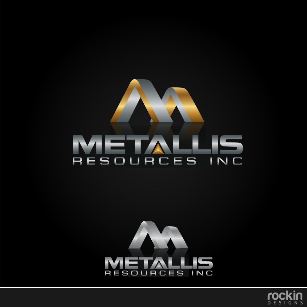 Logo Design by rockin - Entry No. 115 in the Logo Design Contest Metallis Resources Inc Logo Design.