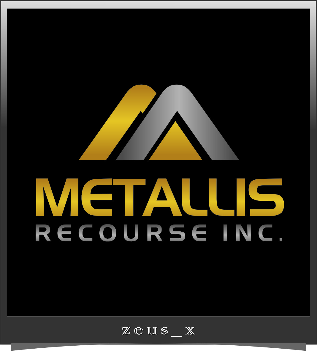 Logo Design by RasYa Muhammad Athaya - Entry No. 117 in the Logo Design Contest Metallis Resources Inc Logo Design.