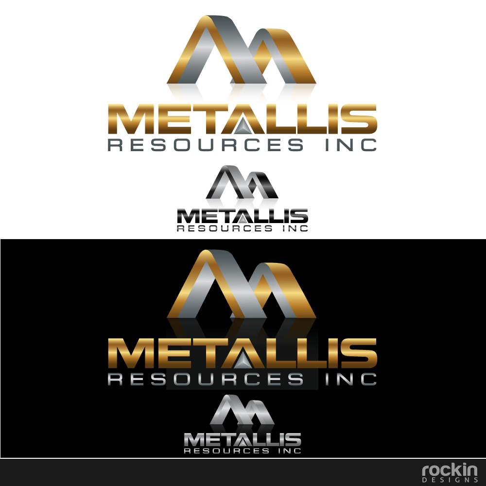Logo Design by rockin - Entry No. 119 in the Logo Design Contest Metallis Resources Inc Logo Design.