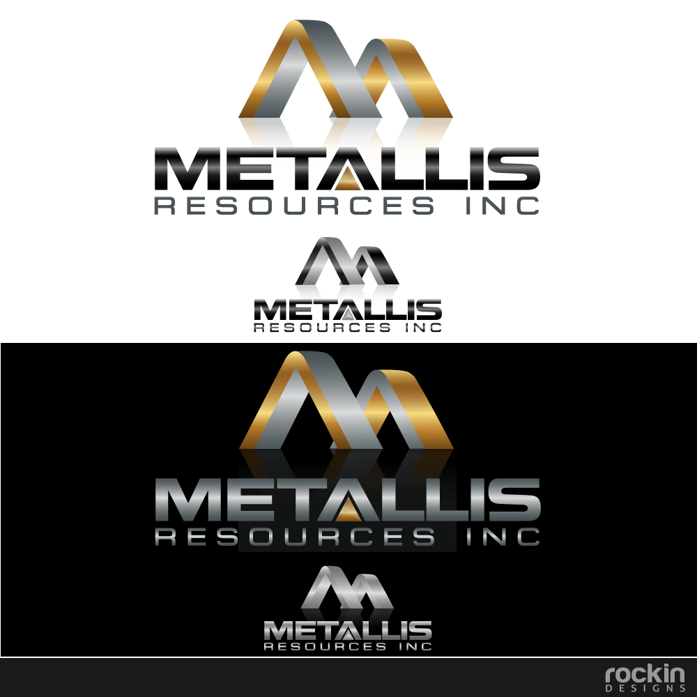 Logo Design by rockin - Entry No. 120 in the Logo Design Contest Metallis Resources Inc Logo Design.