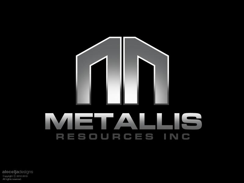 Logo Design by alocelja - Entry No. 123 in the Logo Design Contest Metallis Resources Inc Logo Design.