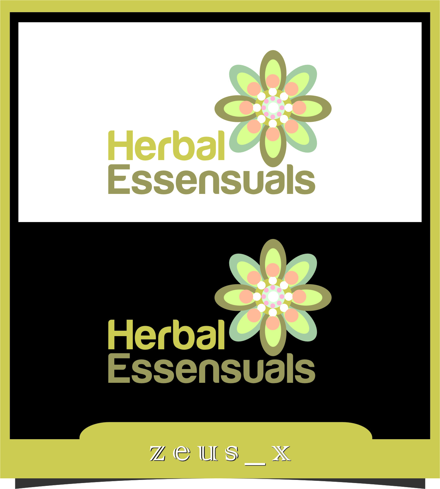 Logo Design by Ngepet_art - Entry No. 21 in the Logo Design Contest Captivating Logo Design for Herbal Essensuals.