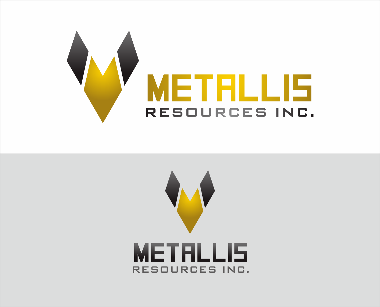 Logo Design by Armada Jamaluddin - Entry No. 132 in the Logo Design Contest Metallis Resources Inc Logo Design.