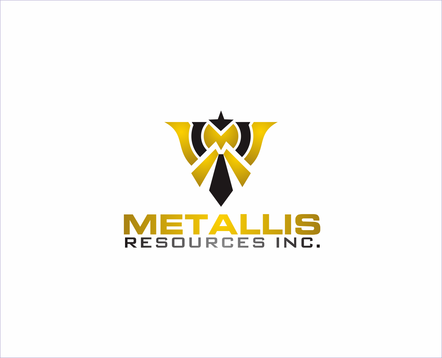 Logo Design by Armada Jamaluddin - Entry No. 133 in the Logo Design Contest Metallis Resources Inc Logo Design.
