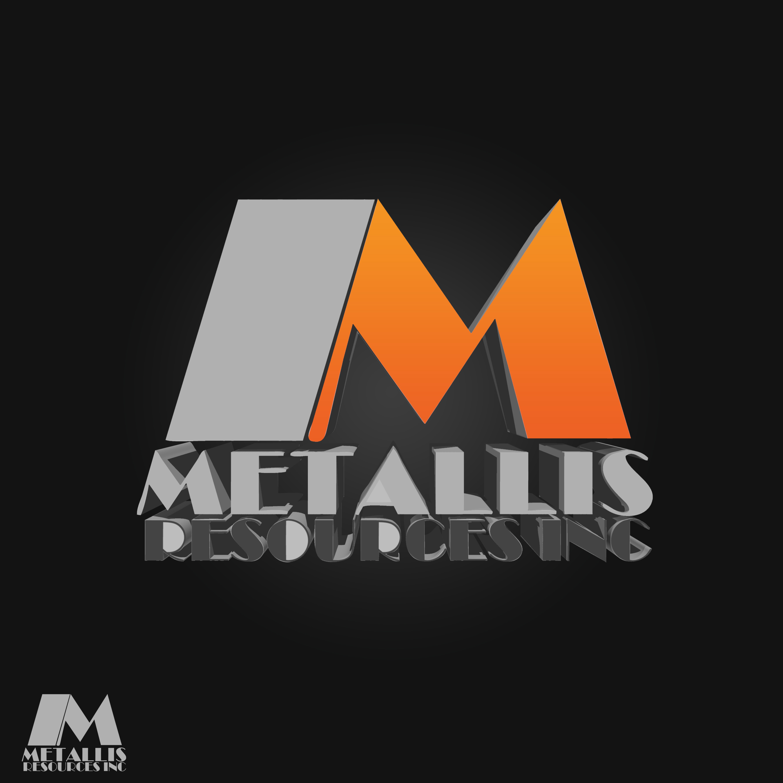 Logo Design by Karem Tounsi - Entry No. 135 in the Logo Design Contest Metallis Resources Inc Logo Design.