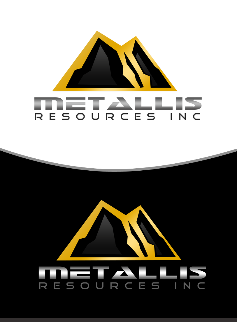 Logo Design by Private User - Entry No. 139 in the Logo Design Contest Metallis Resources Inc Logo Design.