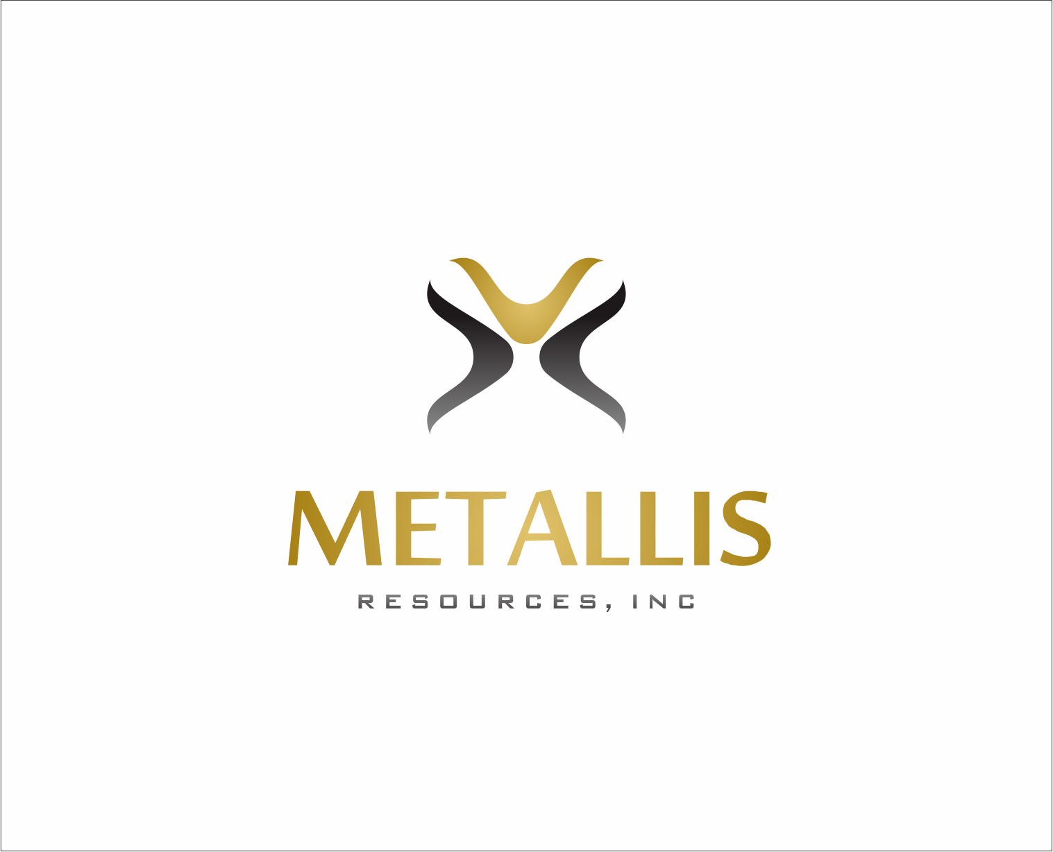 Logo Design by Armada Jamaluddin - Entry No. 142 in the Logo Design Contest Metallis Resources Inc Logo Design.