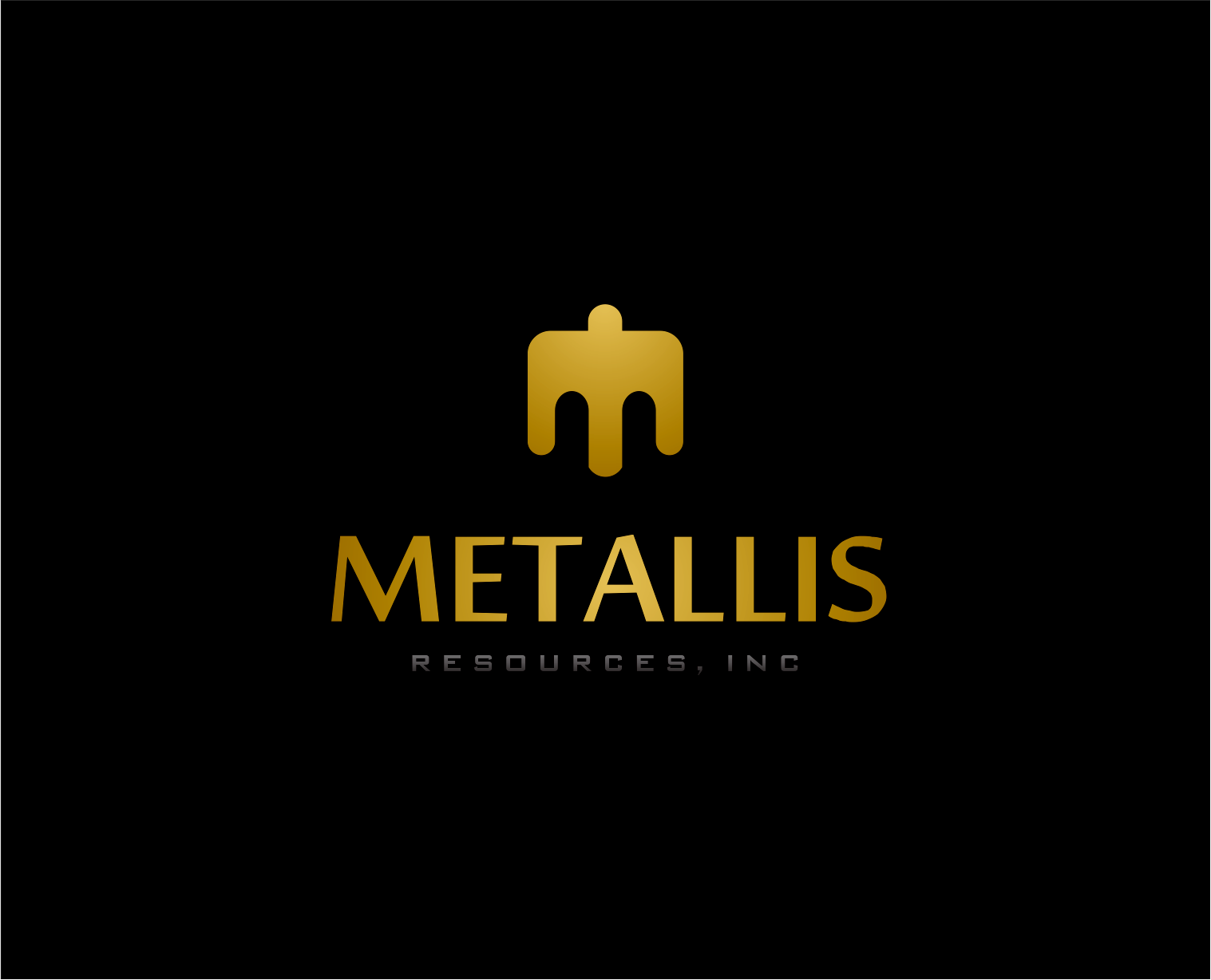 Logo Design by Armada Jamaluddin - Entry No. 143 in the Logo Design Contest Metallis Resources Inc Logo Design.