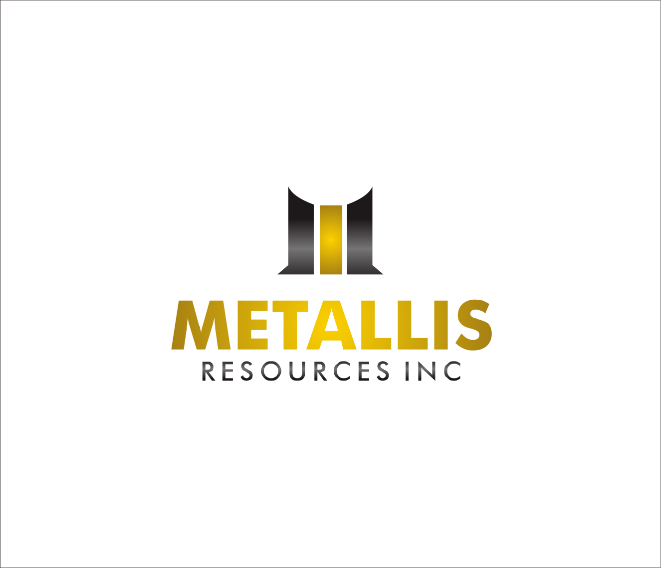 Logo Design by Armada Jamaluddin - Entry No. 144 in the Logo Design Contest Metallis Resources Inc Logo Design.