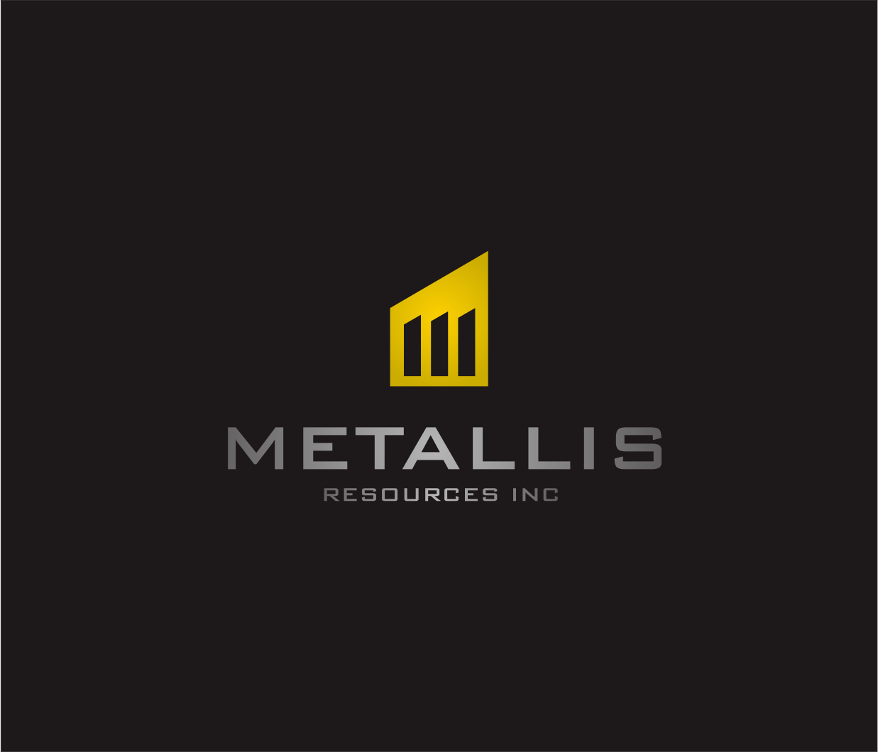 Logo Design by Armada Jamaluddin - Entry No. 146 in the Logo Design Contest Metallis Resources Inc Logo Design.