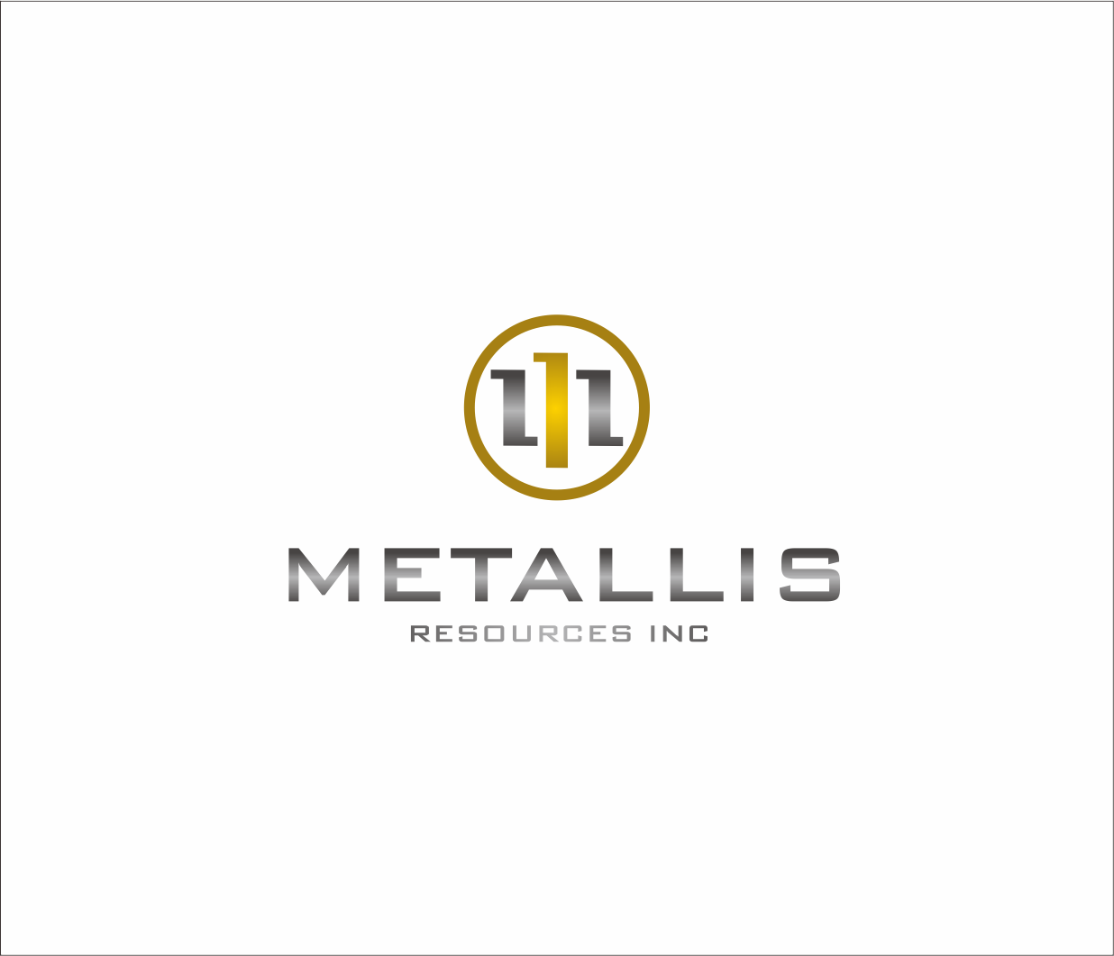 Logo Design by Armada Jamaluddin - Entry No. 147 in the Logo Design Contest Metallis Resources Inc Logo Design.