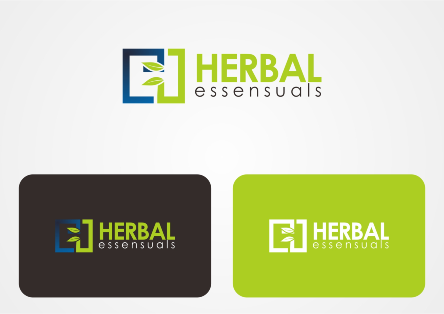Logo Design by Private User - Entry No. 28 in the Logo Design Contest Captivating Logo Design for Herbal Essensuals.