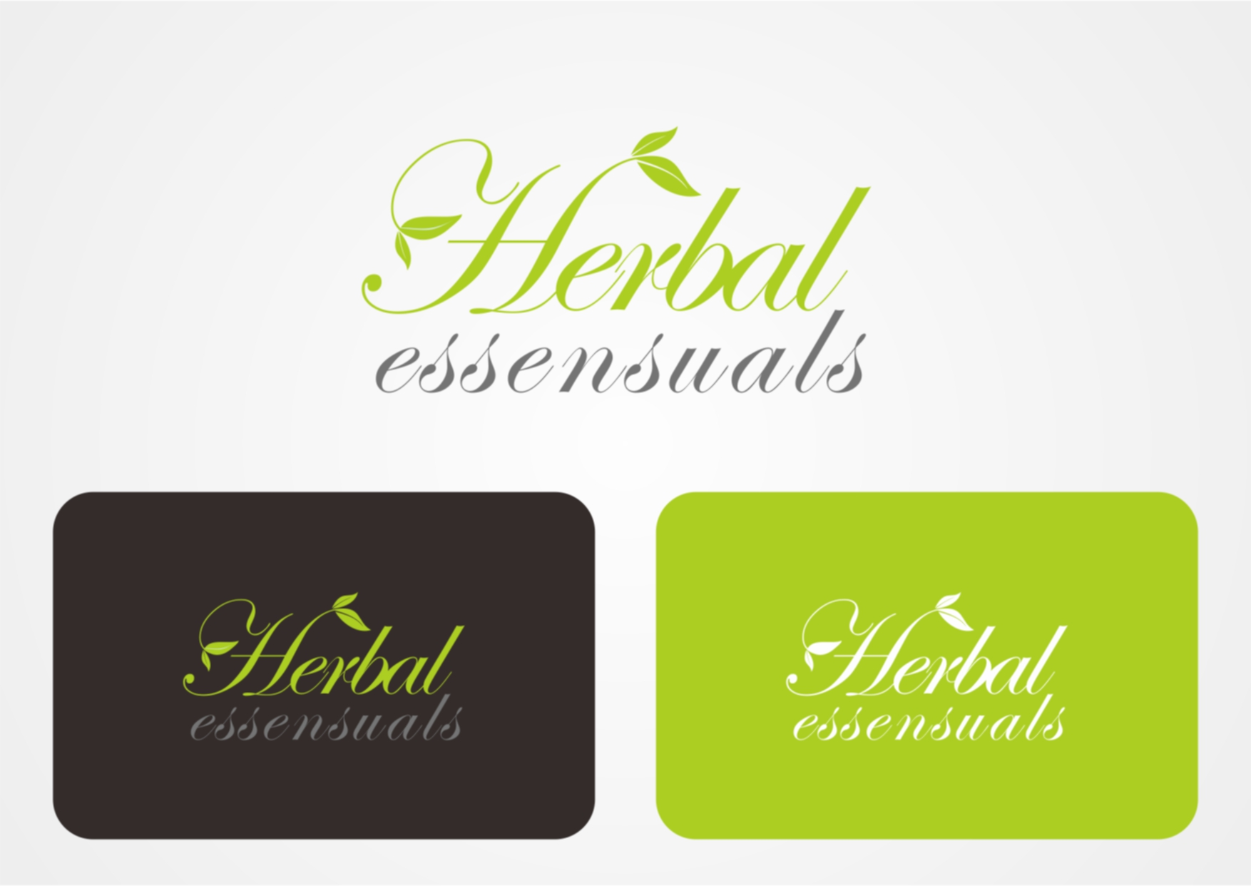 Logo Design by Private User - Entry No. 29 in the Logo Design Contest Captivating Logo Design for Herbal Essensuals.