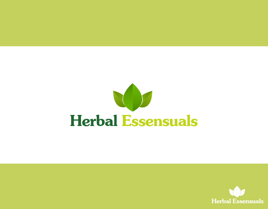 Logo Design by Tajbir Ahmed - Entry No. 30 in the Logo Design Contest Captivating Logo Design for Herbal Essensuals.