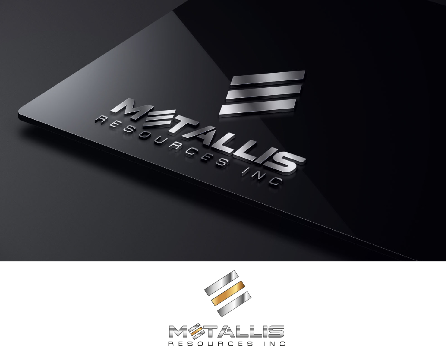 Logo Design by VENTSISLAV KOVACHEV - Entry No. 158 in the Logo Design Contest Metallis Resources Inc Logo Design.