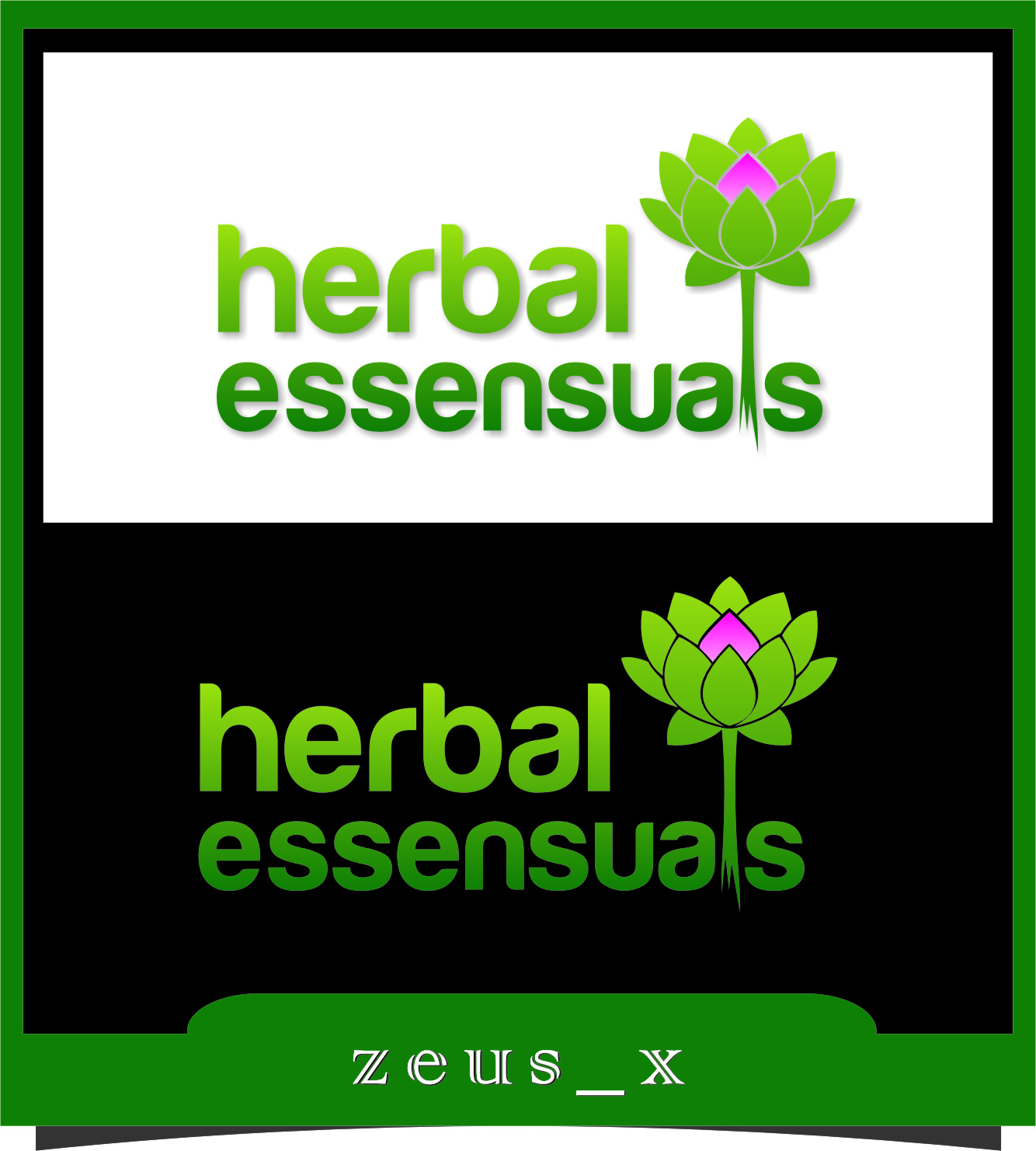 Logo Design by Ngepet_art - Entry No. 33 in the Logo Design Contest Captivating Logo Design for Herbal Essensuals.