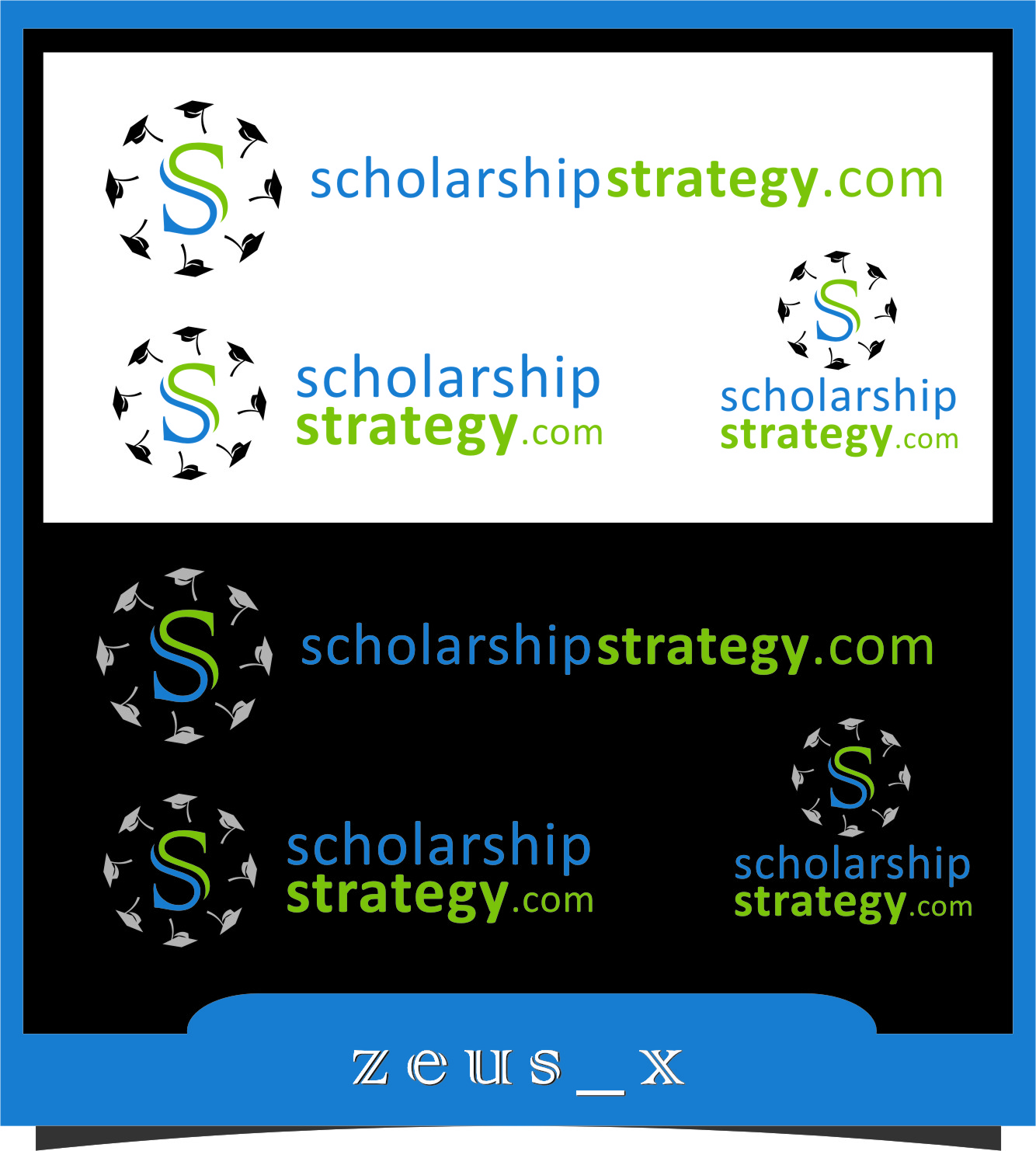 Logo Design by RasYa Muhammad Athaya - Entry No. 49 in the Logo Design Contest Captivating Logo Design for Scholarshipstrategy.com.