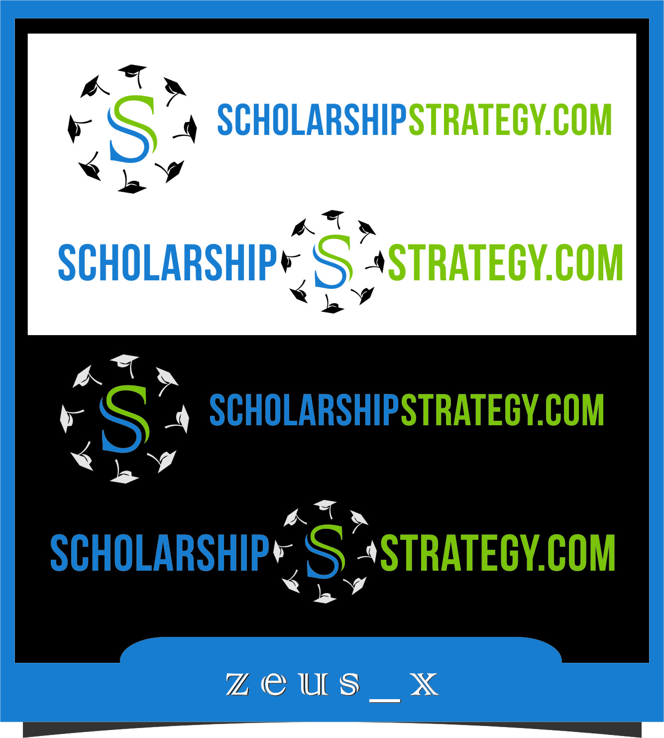 Logo Design by RoSyid Rono-Rene On Java - Entry No. 50 in the Logo Design Contest Captivating Logo Design for Scholarshipstrategy.com.