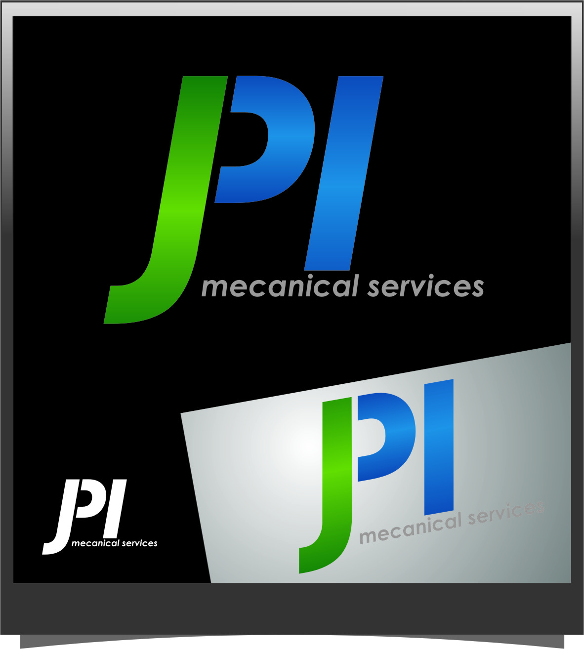 Logo Design by Ngepet_art - Entry No. 1 in the Logo Design Contest Inspiring Logo Design for JPI Mecanical Services.