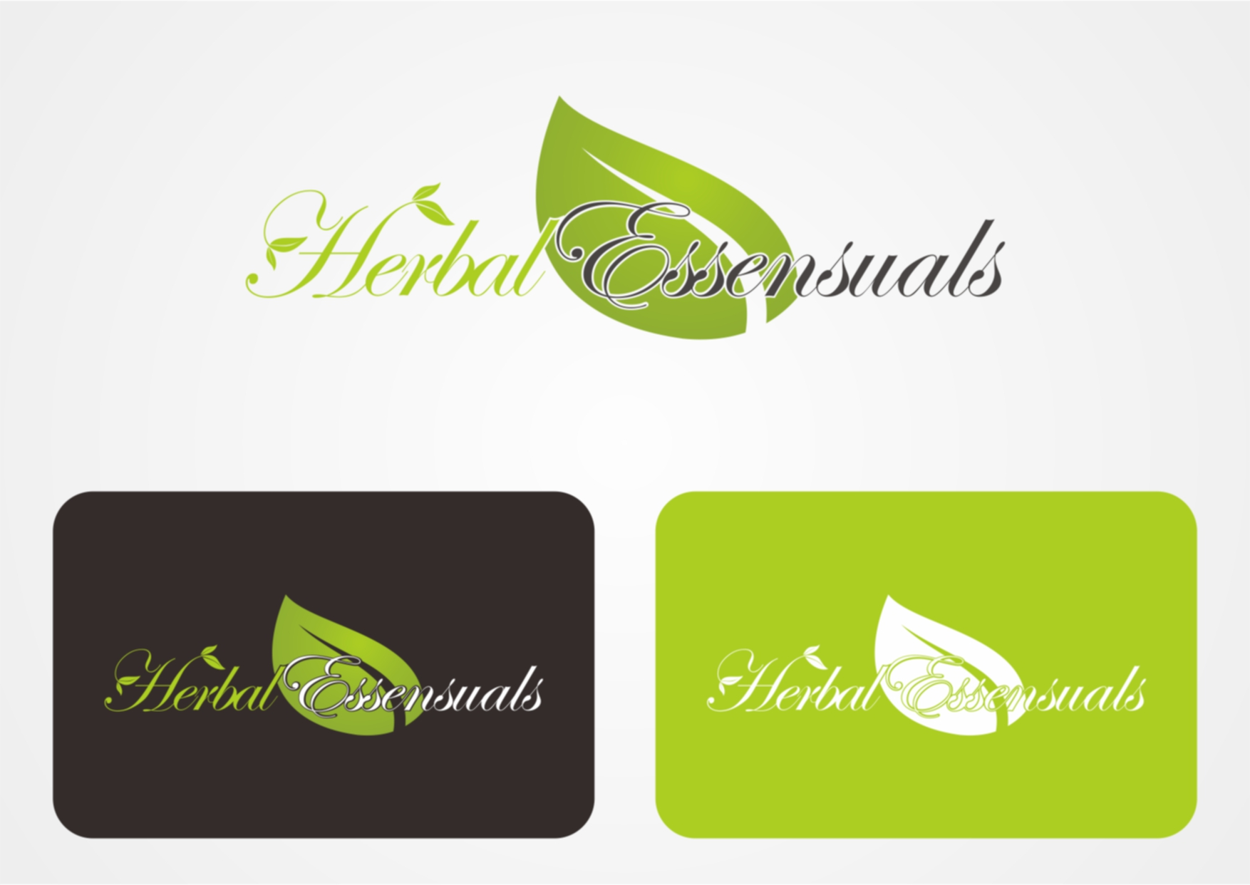 Logo Design by Private User - Entry No. 36 in the Logo Design Contest Captivating Logo Design for Herbal Essensuals.
