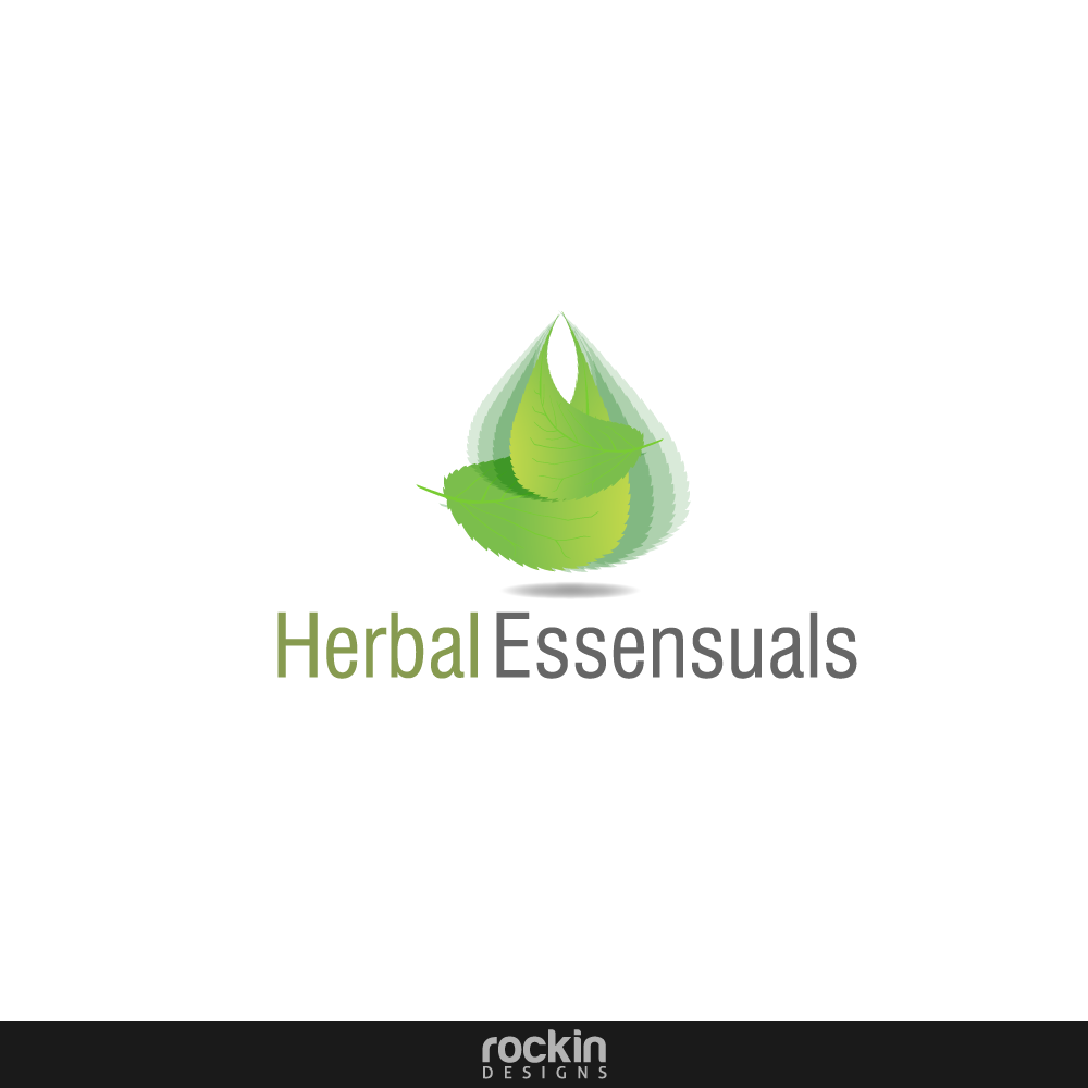 Logo Design by rockin - Entry No. 38 in the Logo Design Contest Captivating Logo Design for Herbal Essensuals.