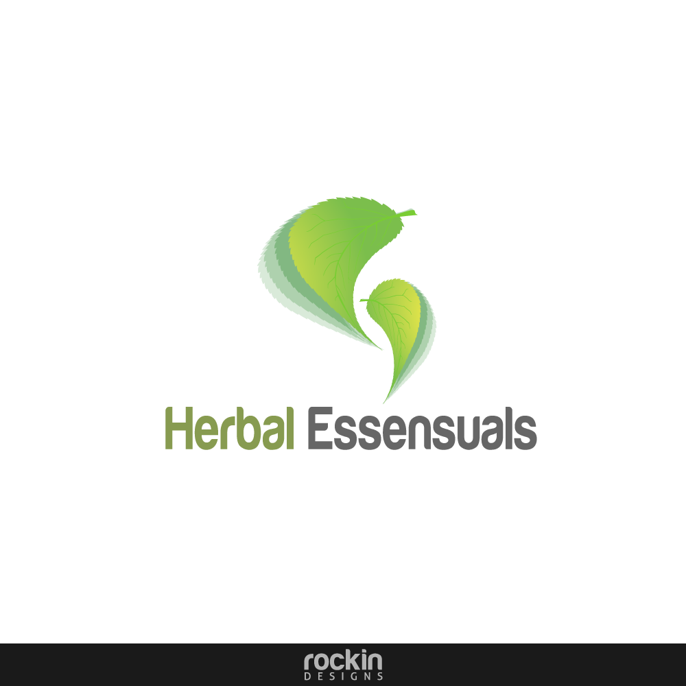 Logo Design by rockin - Entry No. 41 in the Logo Design Contest Captivating Logo Design for Herbal Essensuals.