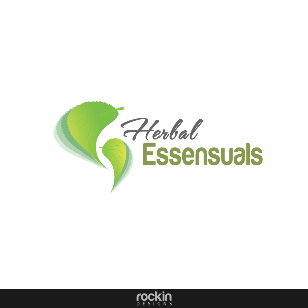 Logo Design by rockin - Entry No. 42 in the Logo Design Contest Captivating Logo Design for Herbal Essensuals.