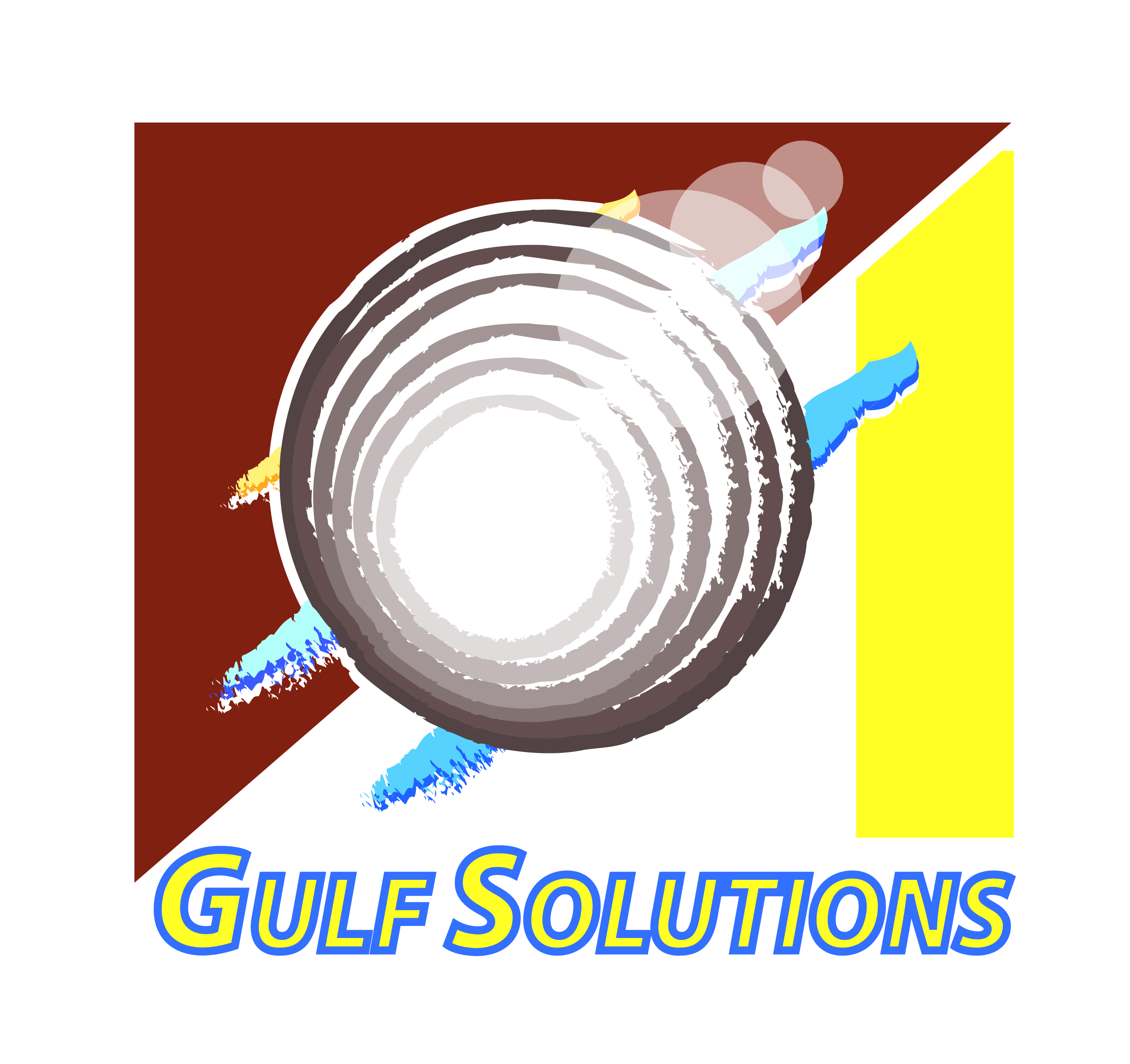 Logo Design by Piyush Sharma - Entry No. 10 in the Logo Design Contest New Logo Design for Gulf solutions company.