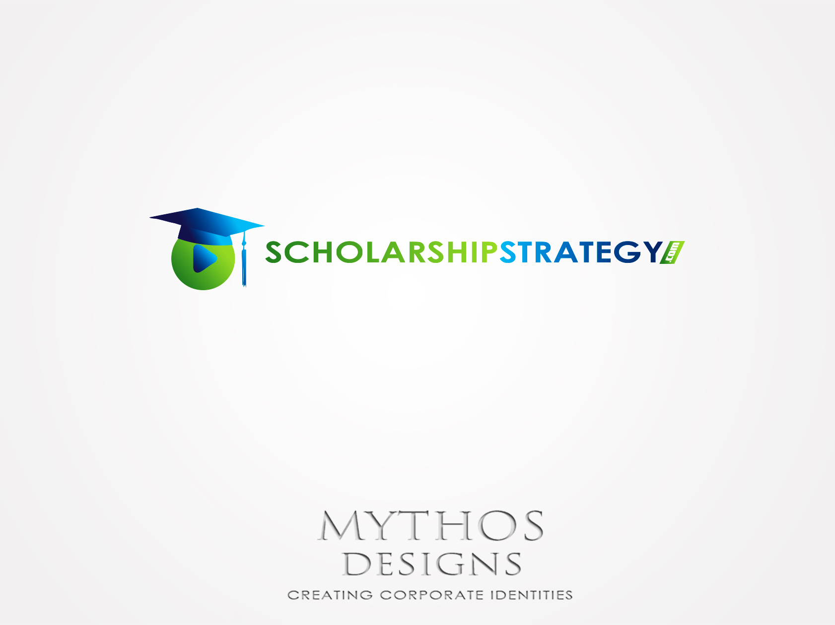 Logo Design by Mythos Designs - Entry No. 63 in the Logo Design Contest Captivating Logo Design for Scholarshipstrategy.com.