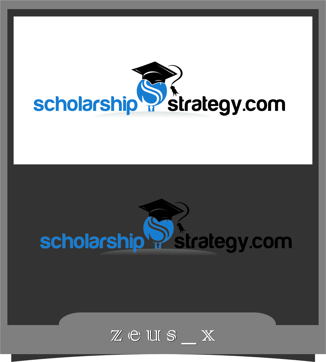 Logo Design by RasYa Muhammad Athaya - Entry No. 64 in the Logo Design Contest Captivating Logo Design for Scholarshipstrategy.com.