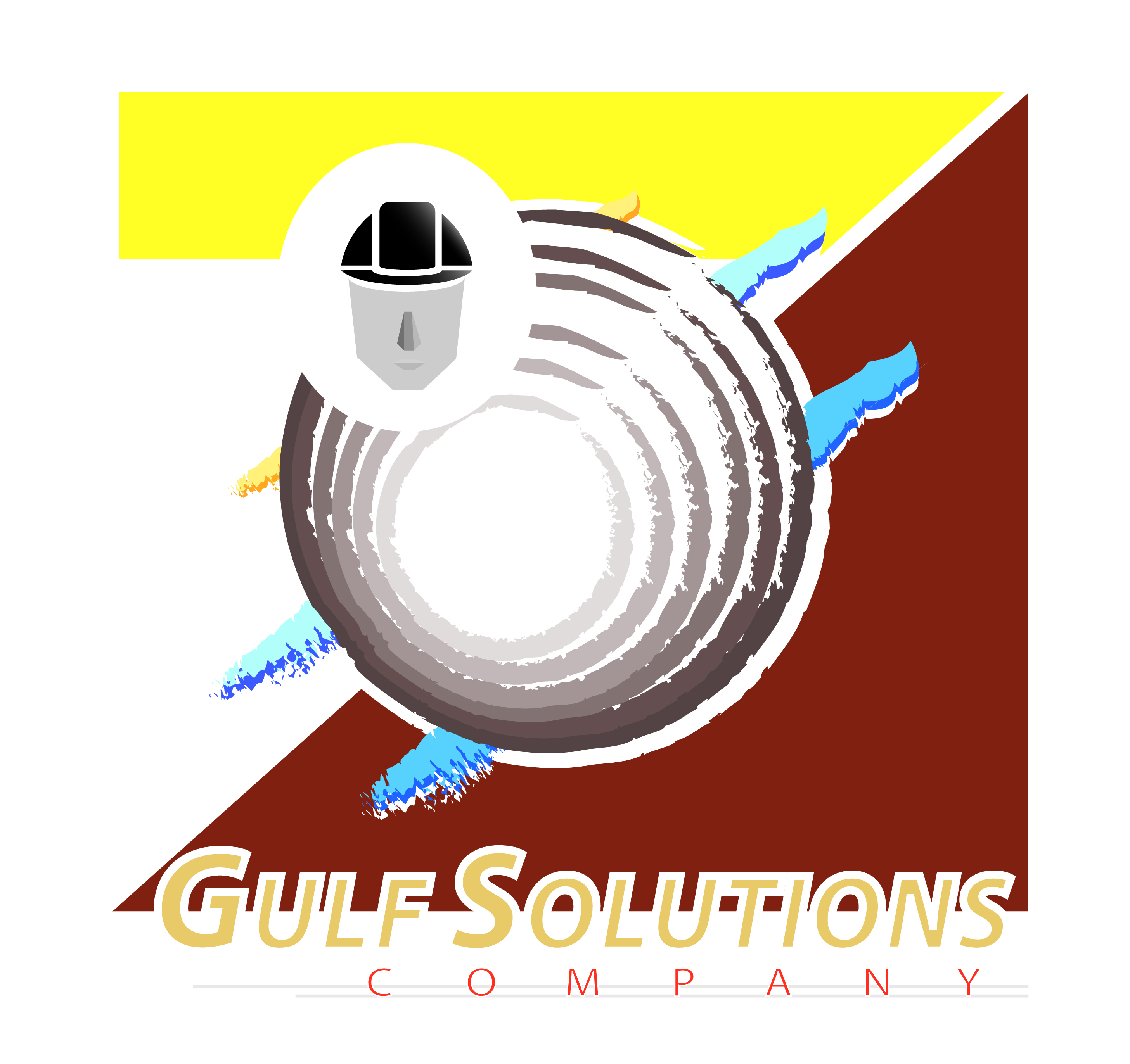 Logo Design by Piyush Sharma - Entry No. 12 in the Logo Design Contest New Logo Design for Gulf solutions company.