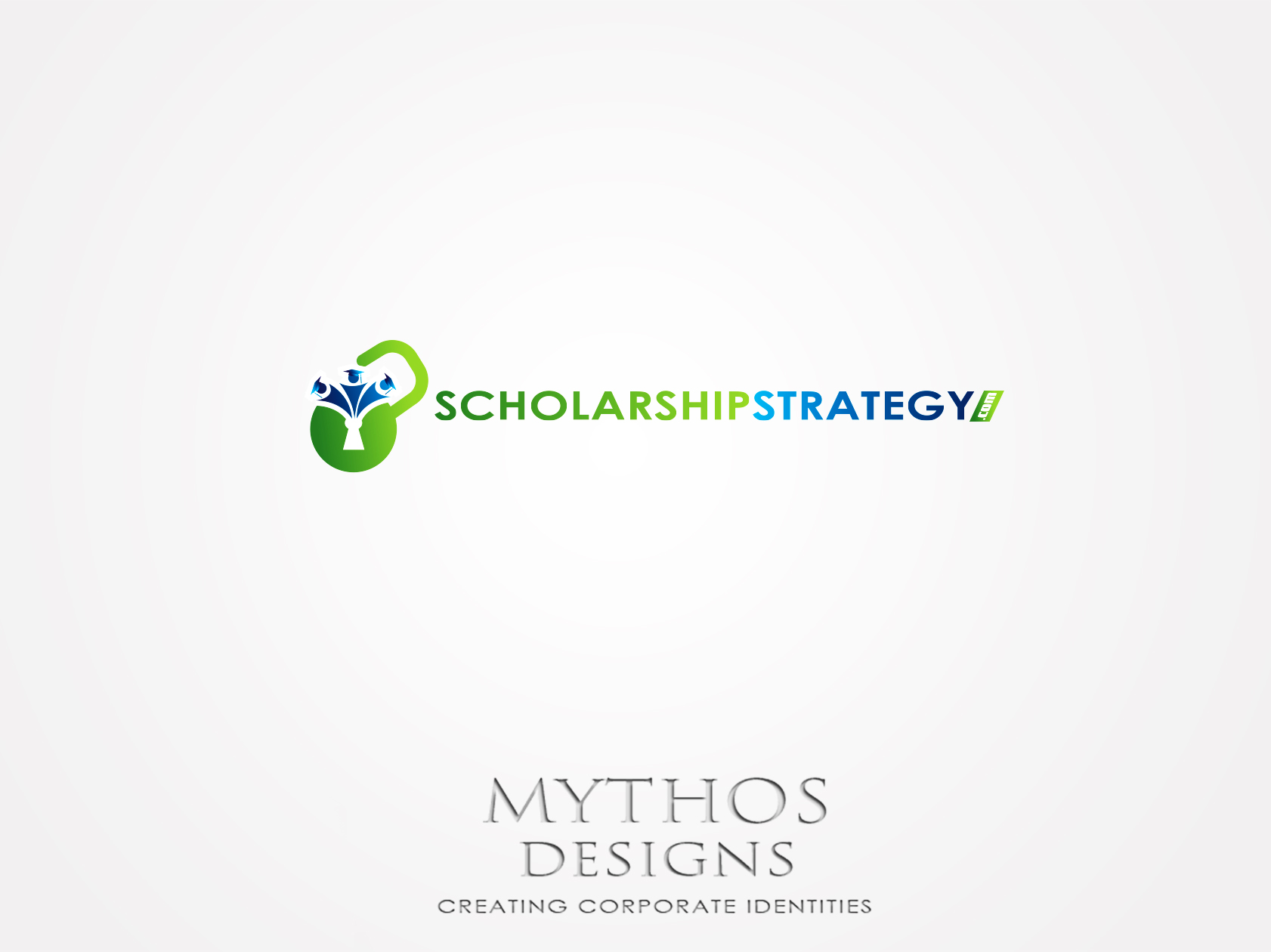 Logo Design by Mythos Designs - Entry No. 66 in the Logo Design Contest Captivating Logo Design for Scholarshipstrategy.com.