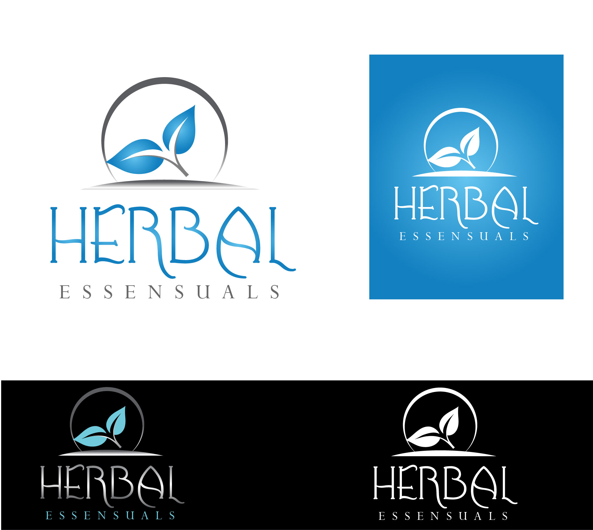Logo Design by Darina Dimitrova - Entry No. 44 in the Logo Design Contest Captivating Logo Design for Herbal Essensuals.