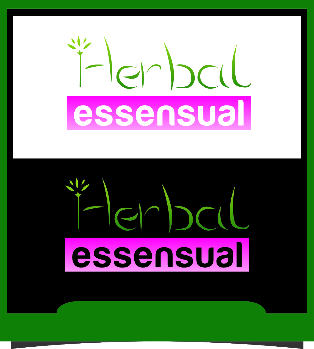 Logo Design by RasYa Muhammad Athaya - Entry No. 45 in the Logo Design Contest Captivating Logo Design for Herbal Essensuals.