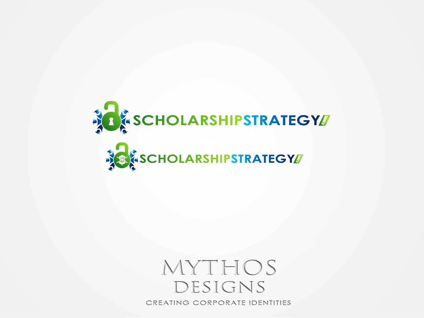 Logo Design by Mythos Designs - Entry No. 71 in the Logo Design Contest Captivating Logo Design for Scholarshipstrategy.com.
