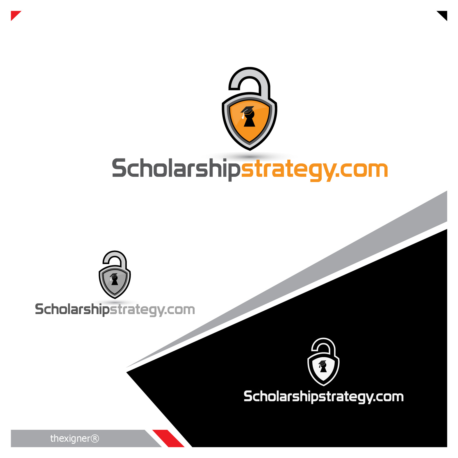 Logo Design by lagalag - Entry No. 76 in the Logo Design Contest Captivating Logo Design for Scholarshipstrategy.com.