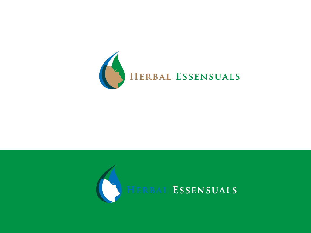 Logo Design by Mehedi Hasan - Entry No. 48 in the Logo Design Contest Captivating Logo Design for Herbal Essensuals.