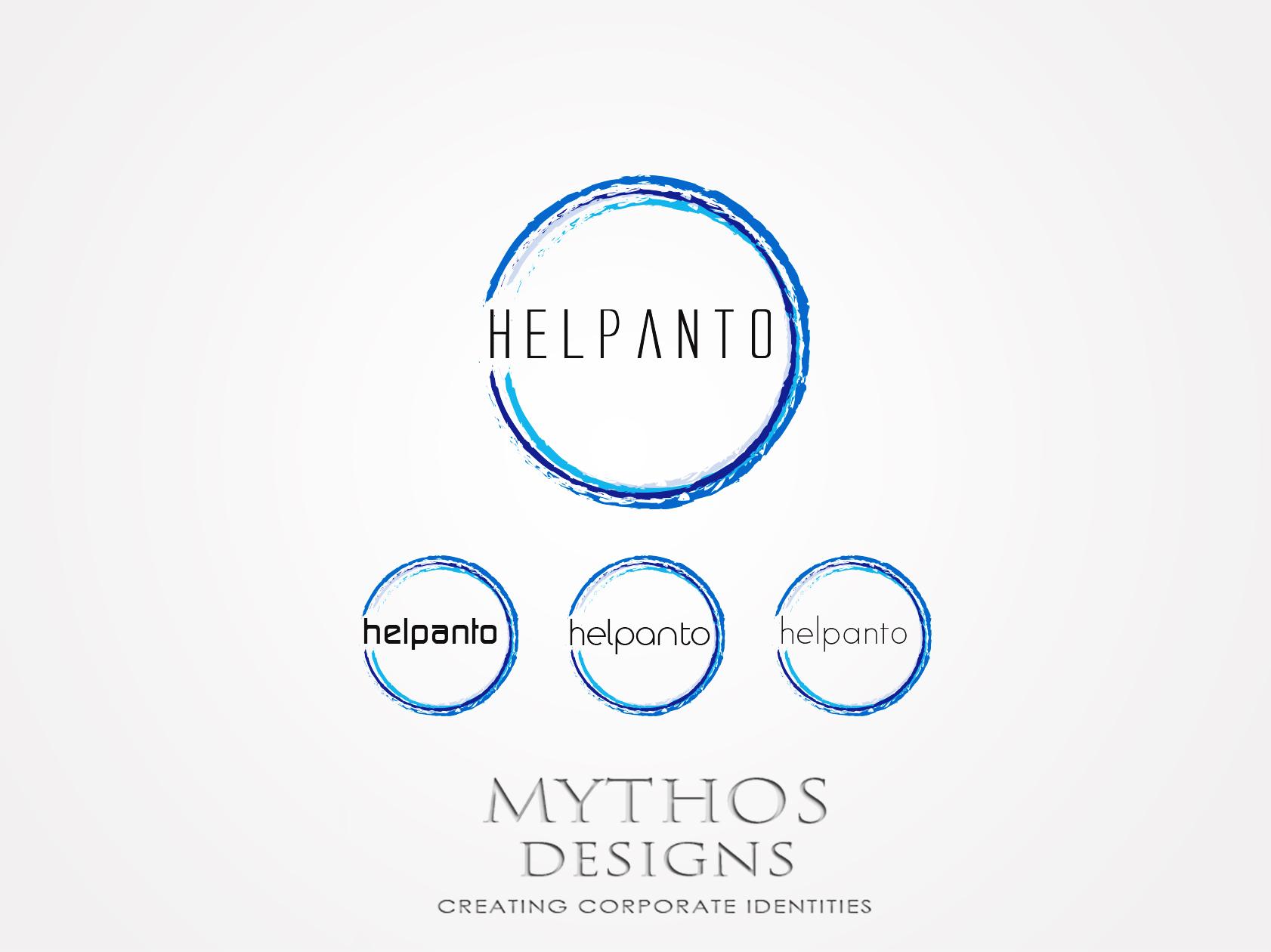 Logo Design by Mythos Designs - Entry No. 107 in the Logo Design Contest Artistic Logo Design for helpanto.