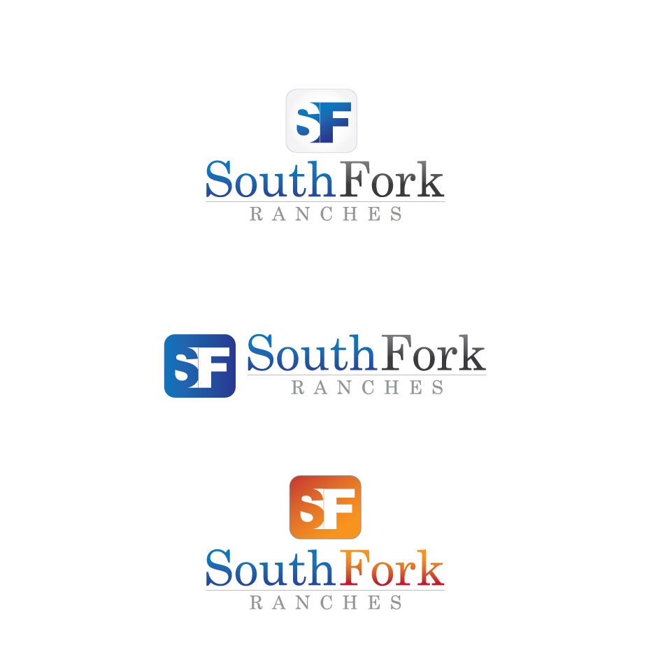Logo Design by logoziner - Entry No. 72 in the Logo Design Contest South Fork Ranches.