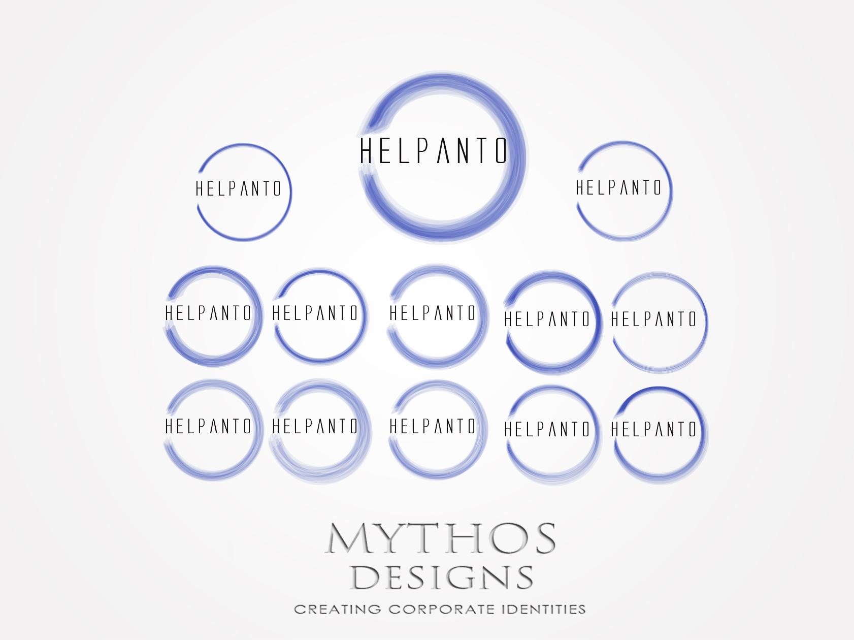 Logo Design by Mythos Designs - Entry No. 108 in the Logo Design Contest Artistic Logo Design for helpanto.