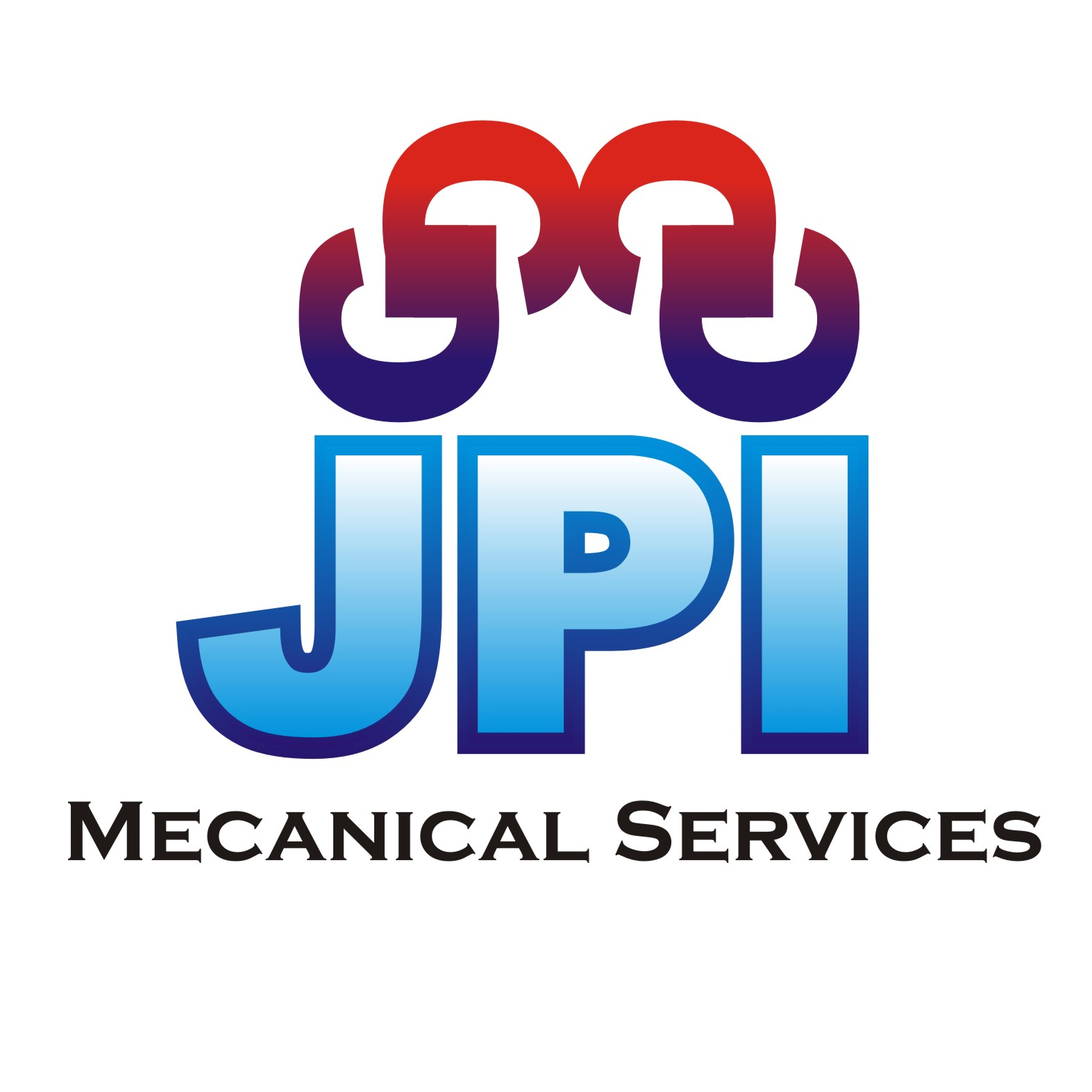 Logo Design by RIzal Sánchez - Entry No. 5 in the Logo Design Contest Inspiring Logo Design for JPI Mecanical Services.